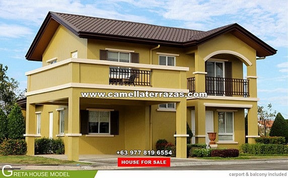 Camella Terrazas House and Lot for Sale in Silang, Cavite Philippines