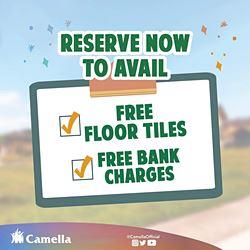 Promo for Camella Terrazas.